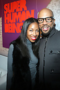 l to r: Nia Andrews and Common at the Common Celebration for the Capsule Line Launch with Softwear by Microsoft at Skylight Studios on December 3, 2008 in New York City..Microsoft celebrates the launch of a limited-edition capsule collection of SOFTWEAR by Microsoft graphic tees designed by Common. The t-shirt  designs. inspired by the 1980's when both Microsoft and and Hip Hop really came of age, include iconography that depicts shared principles of the technology company and the Hip Hop Star.
