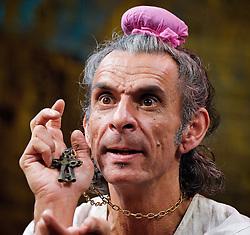 Press photocall - 'Kanjoos The Miser' adapted by Hardeep Singh Kohli and Jatinder Verma, The Tara Theatre, London, Great Britain, September 28, 2012. Photo by Elliott Franks / i-Images.