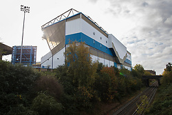 29th October 2017 - Sky Bet EFL Championship - Birmingham City v Aston Villa - A general view (GV) of the railway track running behind St. Andrews - Photo: Simon Stacpoole / Offside.