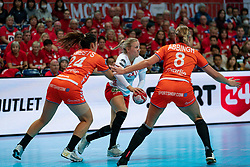 09-12-2019 JAP: Denmark - Netherlands, Kumamoto<br /> Second match Main Round Group1 at 24th IHF Women's Handball World Championship, Netherlands lost also the second match against Denmark with 27 - 24. / /dh