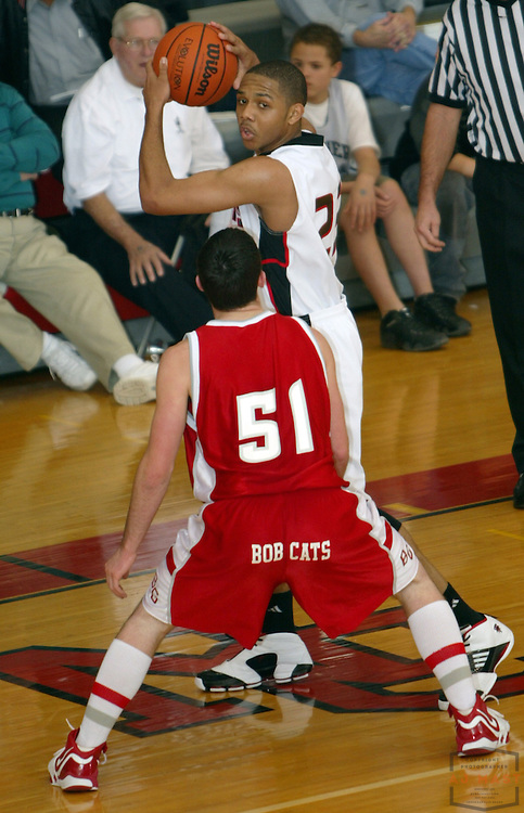 28 December 2006: Eric Gordon as North Central High played Bowling Green (OH) in a holiday prep basketball tournament in Indianapolis.