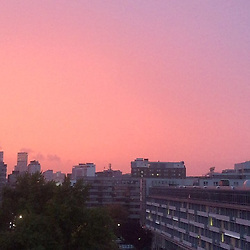 """Natascha Ochsenknecht releases a photo on Instagram with the following caption: """"Der Himmel weint Pink weil ich ausziehe \u263a\ufe0f\ud83d\ude0d\ud83e\udd23\ud83e\udd23\ud83e\udd23"""". Photo Credit: Instagram *** No USA Distribution *** For Editorial Use Only *** Not to be Published in Books or Photo Books ***  Please note: Fees charged by the agency are for the agency's services only, and do not, nor are they intended to, convey to the user any ownership of Copyright or License in the material. The agency does not claim any ownership including but not limited to Copyright or License in the attached material. By publishing this material you expressly agree to indemnify and to hold the agency and its directors, shareholders and employees harmless from any loss, claims, damages, demands, expenses (including legal fees), or any causes of action or allegation against the agency arising out of or connected in any way with publication of the material."""