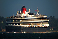 MS Queen Victoria at Southampton ,MS Queen Victoria is a Vista-class cruise ship operated by the Cunard Line and is named after the British Monarch Queen Victoria. She is of the same basic design as other Vista-class cruise ships including Queen Elizabeth.she is the smallest of Cunard's ships in operation photo By Michael Palmer