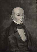 Gerard Troost (1776-11850), Dutch-born American geologist and natural philosopher.  Professor of chemistry, geology and mineralogy at the University of Nashville (1828). One of the founders of the Academy of Natural Sciences, Philadelphia. Engraving, 1896.