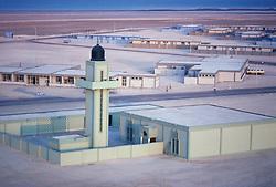 Islamic Mosque located in Safwa, Saudi Arabia on the Arabian Gulf.