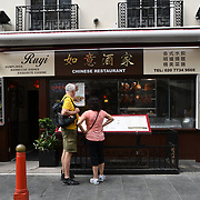 Ruyi Chinese restaurants in Chinatown London on July 19 2018, UK