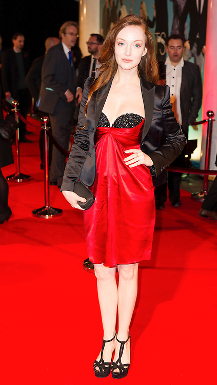 © London News Pictures. 07/11/2013. London, UK. Olivia Grant attending Virgin Media Shorts, BFI IMAX. Photo Credit: Raimondas Kazenas/LNP