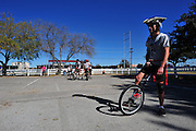 Unicycle Football League in San Marcos, Texas on December 15, 2013