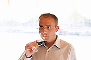Stephane Saurel, owner and winemaker, Domaine les Terrasses d'Eole, Cotes du Ventoux, village of Mazan, Rhone, France, Europe