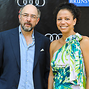 Richard Schiff and Gloria Rueben