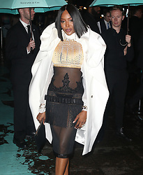 Celebrities at the Tiffany Paper Flowers event in New York City. 03 May 2018 Pictured: Naomi Campbell. Photo credit: MEGA TheMegaAgency.com +1 888 505 6342