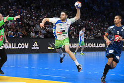 Janc Blaz during 25th IHF men's world championship 2017 match between France and Slovenia at Accord hotel Arena on january 24 2017 in Paris. France. PHOTO: CHRISTOPHE SAIDI / SIPA / Sportida