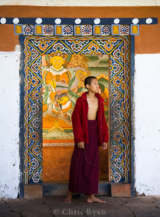"""Chimi Lhakhang (temple), dedicated to Lama Krukpa Kuenley (""""the divine madman"""")"""