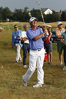 Golf - 2019 Senior Open Championship at Royal Lytham & St Annes - First Round <br /> <br /> Wes Short Jnr (USA) plays his approach into the 18th green.<br /> <br /> COLORSPORT/ALAN MARTIN