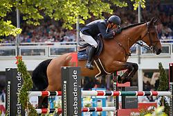 VERMEIR Wilm (BEL), DM Jacqmotte<br /> Wiesbaden - 82. PfingstTurnier 2018<br /> Grosser Preis von Wiesbaden<br /> Wertung zur DKB-Riders Tour<br /> 21. Mai 2018<br /> www.sportfotos-lafrentz.de/Stefan Lafrentz