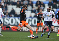 Paul Coutts of Sheffield Utd scores Utd's first goal during the FA Cup Second round match at the Macron Stadium, Bolton. Picture date: December 4th, 2016. Pic Simon Bellis/Sportimage