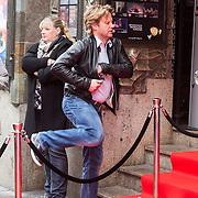 NLD/Amsterdam/20140405 - Filmpremiere Pim & Pom, Peter Paul Muller heeft er weer eens geen zin in