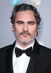 Joaquin Phoenix attending the 73rd British Academy Film Awards held at the Royal Albert Hall, London. Photo credit should read: Doug Peters/EMPICS Entertainment