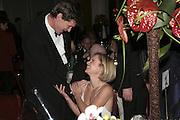 Robert McCrumb and Mariella Frostrup,  Costa Book Awards 2006. Grosvenor House Ballroom. Park Lane, London. 7 February 2007. -DO NOT ARCHIVE-© Copyright Photograph by Dafydd Jones. 248 Clapham Rd. London SW9 0PZ. Tel 0207 820 0771. www.dafjones.com.