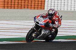 November 11, 2017 - Cheste, Spain - Andrea Dovizioso (Ducati Team)  during qualifying session at Valencia Motogp (Credit Image: © Gaetano Piazzolla/Pacific Press via ZUMA Wire)