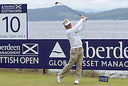The Aberdeen Asset Management Scottish Open Golf Championship 2012 At Castle Stuart Golf Links..3rd Round Saturday 14-07-12.. .Soren Kjeldsen on the 10th  , during the 3rd Round of The Aberdeen Asset Management Scottish Open Golf Championship 2012 At Castle Stuart Golf Links. The event is part of the European Tour Order of Merit and the Race to Dubai....At Castle Stuart Golf Links, Inverness, Scotland...Picture Mark Davison/ ProLens PhotoAgency/ PLPA.Saturday 14th July 2012.