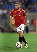 Max Tonetto (Roma)<br /> Roma vs Gent 3-1<br /> Europa League <br /> Stadio Olimpico, Roma, 30/07/2009.<br /> Photo Antonietta Baldassarre Inside