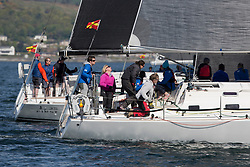 Pelle P Kip Regatta 2019 Day 1<br /> <br /> Light and bright conditions for the opening racing on the Clyde keelboat season<br /> <br /> GBR1121L, Tangaroa, Eliz & Des Balmforth, CCC, Pronavia 38