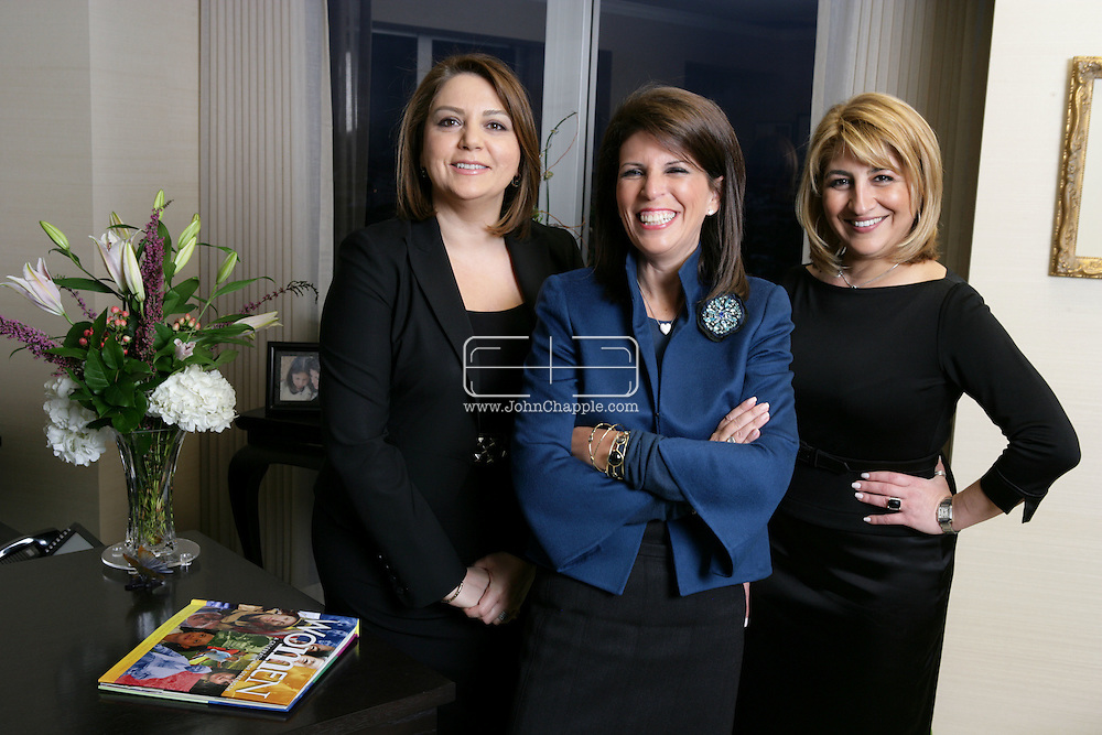 17th February 2009. Los Angeles, California. Women Leaders in the Law, (L-R), Azita Avedissian , Stacy D.Phillips and Grace A. Jamra of law firm: Phillips, Lerner, Lauzon & Jamra. PHOTO © JOHN CHAPPLE / REBEL IMAGES..(001) 310 570 9100   john@chapple.biz   www.chapple.biz