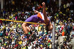 Penn Relays, college men high jump, Torian Ware, Clemson