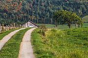The Chaudière-Appalaches region.<br /> Road 269, Qc.CA