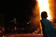 """Bonfire Night by the Sandy Row on the """"Eleventh"""", Belfast"""