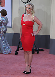 Once Upon a Time in Hollywood Movie Premiere. 22 Jul 2019 Pictured: Britney Spears. Photo credit: MEGA TheMegaAgency.com +1 888 505 6342