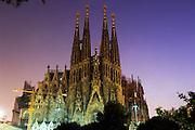 Gaudi's Sagrada Familia, Barcelona, Catlaunya