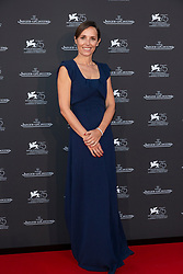 Catherine Alix-Renier (new Jaeger Le-Coultre CEO) attends the Jaeger Le-Coultre Gala night held at Arsenale Docks during the 75th Venice Film Festival at Sala Grande on September 4, 2018 in Venice, Italy. Photo by Marco Piovanotto/ABACAPRESS.COM