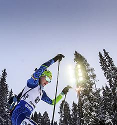"""March 8, 2019 - ƒâ€""""Stersund, Sweden - 190308 Elena Kruchinkina of Belarus competes in the Women's 7.5 KM sprint during the IBU World Championships Biathlon on March 8, 2019 in Östersund..Photo: Petter Arvidson / BILDBYRÃ…N / kod PA / 92247 (Credit Image: © Petter Arvidson/Bildbyran via ZUMA Press)"""