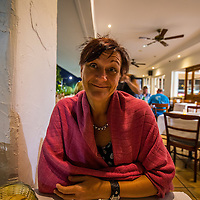 Lori at Yaya's Hellenic Kitchen and Bar in Cairns.  The food here was awesome home styled European food, great eating.