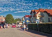 Rowy, 2018.08.04. Miejscowość turystyczna (dawniej osadarybacka) położona międzyŁebąaUstką nad otwartym morzem, w bezpośrednim sąsiedztwie Słowińskiego Parku Narodowego.