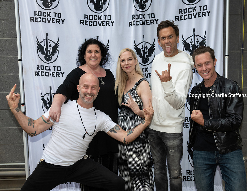 Rock to Recovery: Music as a Catalyst for Human Transformation book signing at Metro Cafe in Santa Monica, California