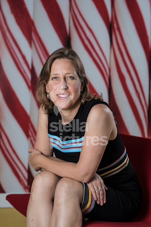 CEO of YouTube, Susan Wojcicki pictured at Google offices in central London.<br /> Picture by Daniel Hambury/Stella Pictures Ltd 07813022858<br /> 27/07/2017