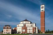 """Kraków, 12.05.2016 (woj. małopolskie). Centrum Jana Pawła II """"Nie lękajcie się""""."""