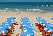 Israel, Tel Aviv, The mediterranean beach front