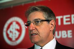 Luís César Souto de Moura volta cargo de diretor de futebol, em cerimônia que Dunga assumiu como novo técnico do clube. FOTO: Jefferson Bernardes/Preview.com