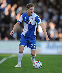 Bristol Rovers' Adam Cunnington - Photo mandatory by-line: Alex James/JMP - Mobile: 07966 386802 - 04/10/2014 - SPORT - Football - Bristol - Stoke Gifford Stadium - Bristol Academy Womens v Notts County Ladies - Womens Super League