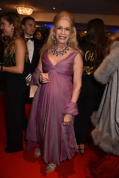 Lady Colin Campbell at the Chain of Hope Gala Ball held at the Grosvenor House Hotel, Park Lane, London England. 17 November 2017.<br /> Photo by Dominic O'Neill/SilverHub 0203 174 1069 sales@silverhubmedia.com