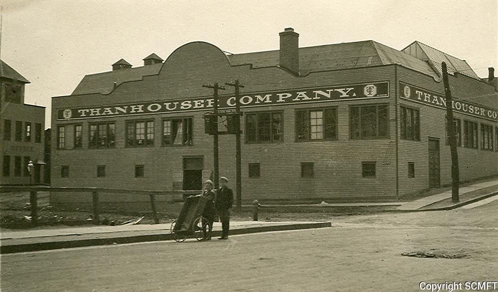1914 Thanhouser Studios in New Rochelle, New York