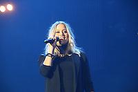 Kimberly Wyatt, Girlguiding BIG GIG, SSE Arena Wembley, London UK, 04 October 2014, Photo by Richard Goldschmidt