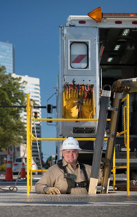 Duke Energy Underground Line Crew