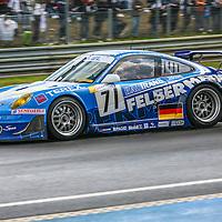 #71 Porsche 997 GT3 RSR,  Seikel Motorsport (Drivers - Horst Felbermayr Jr., Horst Felbermayr and Philip Collin) GT2, Le Mans 24Hr 2007