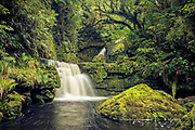 The Lower McLean Falls, Catlins, New Zealand