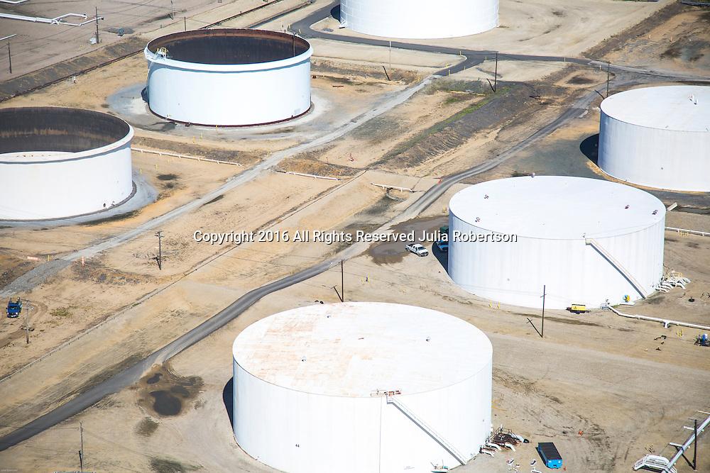 Aerial view of Petroleum Terminals